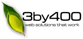3by400 | Web solutions that work