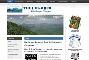 The result: The dedicated site for The Chamber.