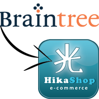 BrainTree Payment Plugin for HikaShop